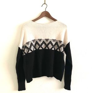 Madewell Aztec Pattern Sweater Pullover